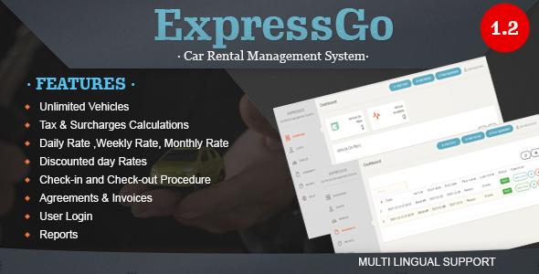 ExpressGo - Car Rental Management System