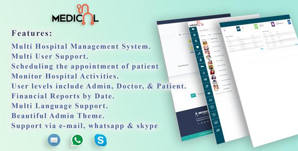 Multi Lingual Hospital Management System - MenorahHealth