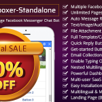 Bot Inboxer – Standalone : Multi-account & Multi-page Facebook Messenger Chat Bot