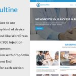 Consulting, Business and Finance Website CMS – Consultine