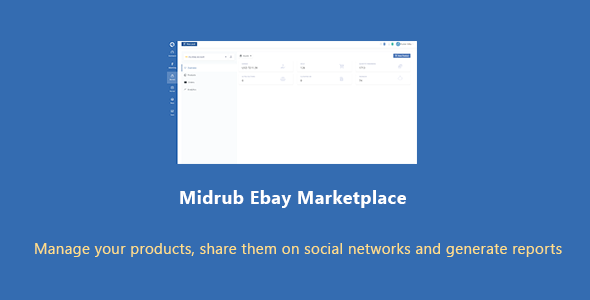 Midrub Ebay Marketplace - Script for Dropshipping and Ebay Management
