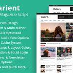 Varient – News & Magazine Script