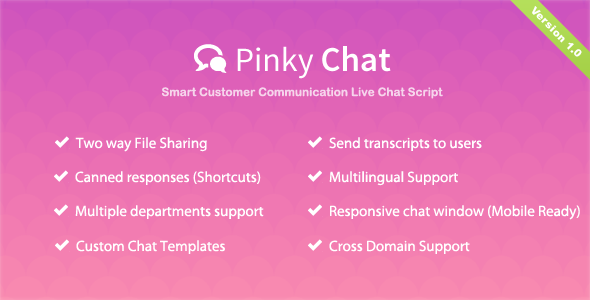 Pinky Chat - Live Chat Support App