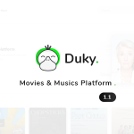 Duky – Movies & Music Platform