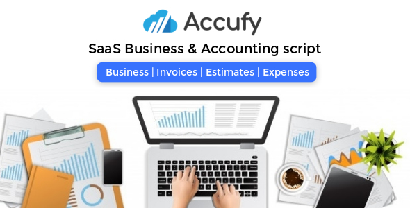 Accufy - SaaS Business & Accounting Script