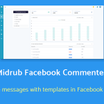 Midrub Facebook Commenter – automatically moderates and sends private messages with templates
