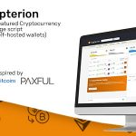 Crypterion – Multi-featured Cryptocurrency Exchange platform (with self-hosted wallets)