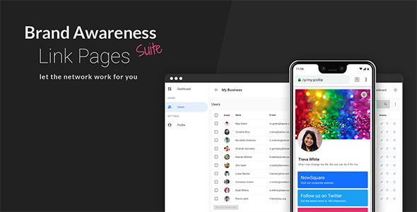 Brand Awareness Suite - Link Pages