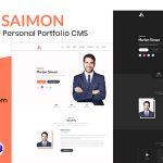 Portfolio/CV/Resume CMS – Saimon