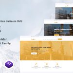 Multipurpose Website & Construction Business Company CMS – Zixer