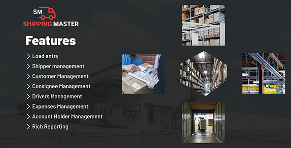 Shipping Master-Shipping & Logistic Management System