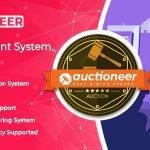 Full Auction management – Auctioneer