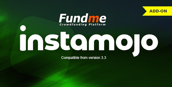 Instamojo Payment Gateway for Fundme