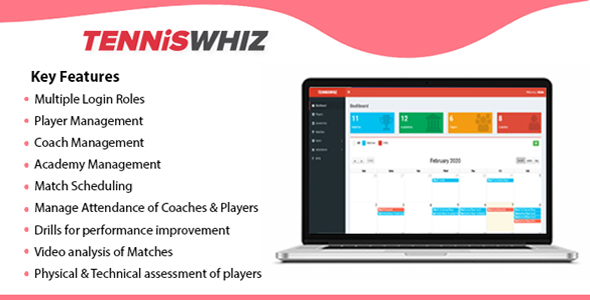 TennisWhiz - Tennis Project Management Tool