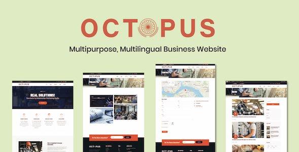 Octopus - Multi-purpose, Multilingual Business Website