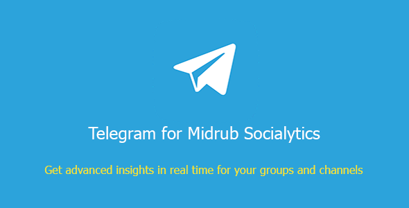 Telegram for Midrub Socialytics