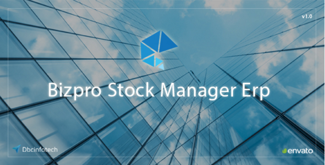 Bizpro Stock Manager Erp PHP Script - PHP FIX