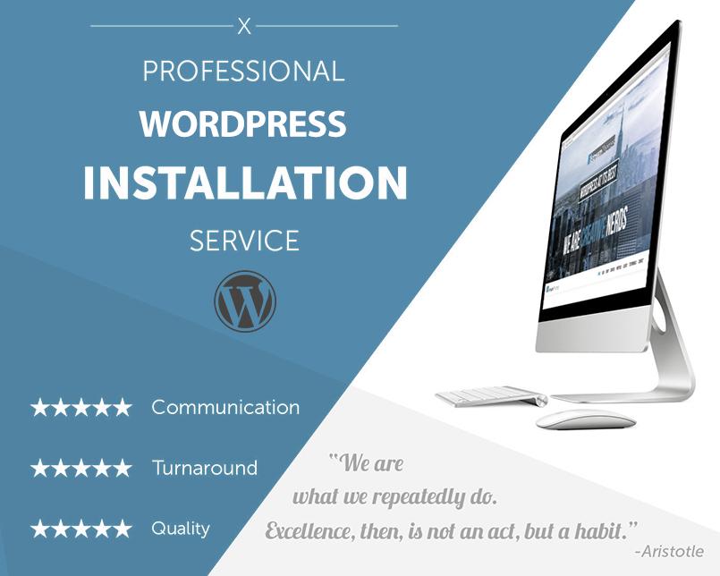 wordpress service
