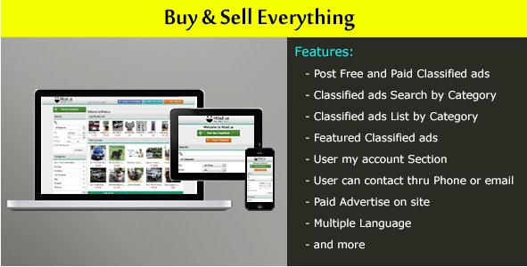 Local Classified Ads Website PHP Script - PHP FIX