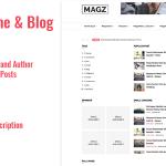 Magazine News & Blog Script – SM