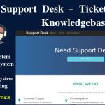 SAAS – Support Ticket – FAQ – Knowledgebase System (zendesk clone)