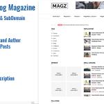 Magazine News & Blog Script – SM Multisite